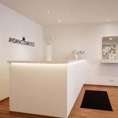 das neue Kosmetikstudio von Aydan Cosmetics