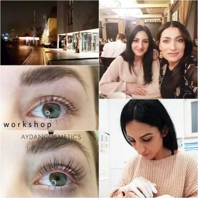 Weiterbildung / Perfektion  bei Aydan Cosmetics 2019