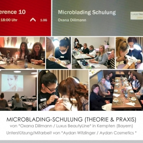 Microblading-Schulung (Theorie + Praxis)