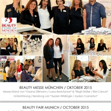Beauty-Messe München, Oktober 2015